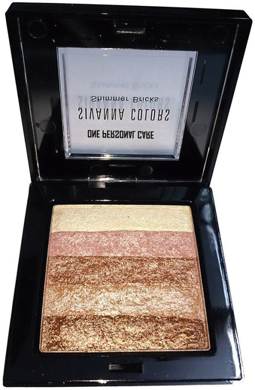 One Personal Care Sivanna Inspired Shining Star Shimmer Bricks | Body Glitter | Radiance Skin Glow | Sparkling Dust(Brown, Pink, Yellow)
