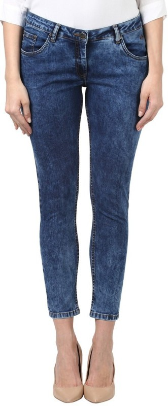 Park Avenue Regular Womens Blue Jeans