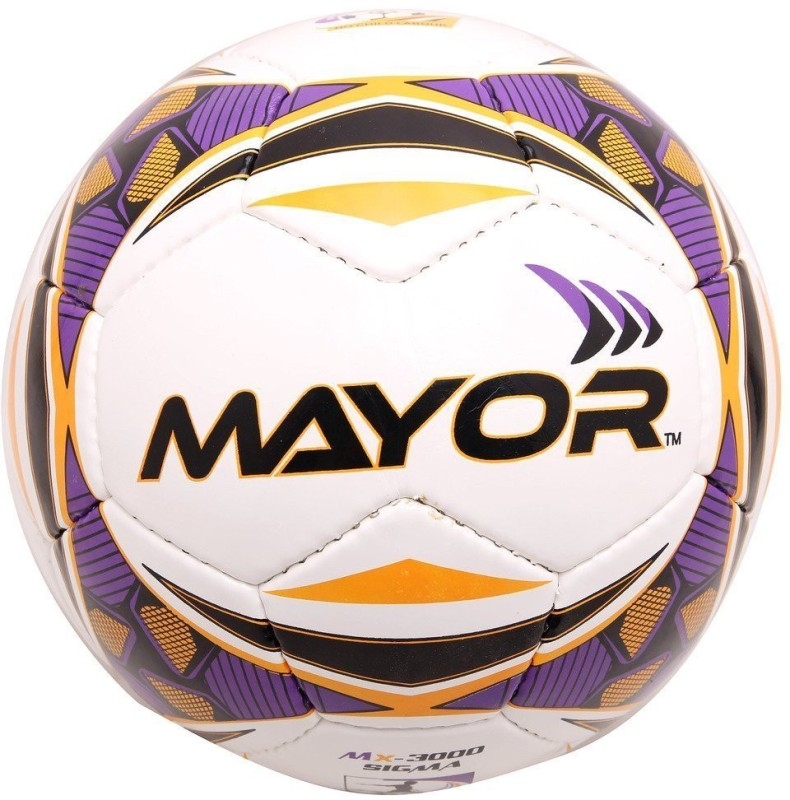 Mayor World Sigma Football - Size: 5(Pack of 1, Multicolor)