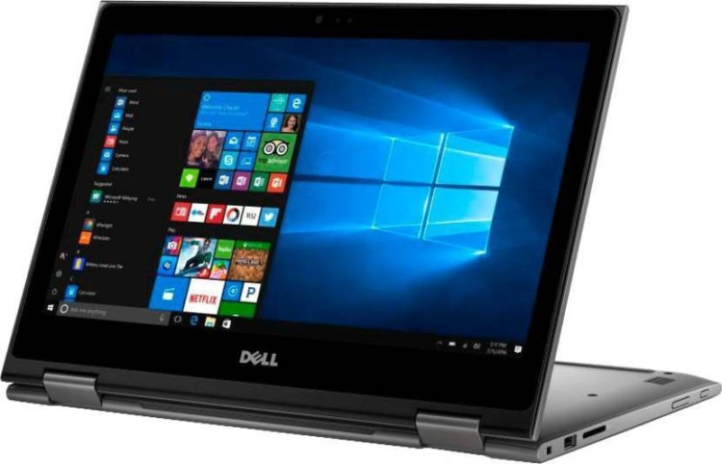 Dell Inspiron 5000 Core i3 7th Gen - (4 GB/1 TB HDD/Windows 10 Home) 5378 2 in 1 Laptop(13.3 inch, Grey, 1.62 kg) Inspiron 5378