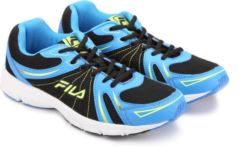 Fila Running Shoes(Black, Blue)