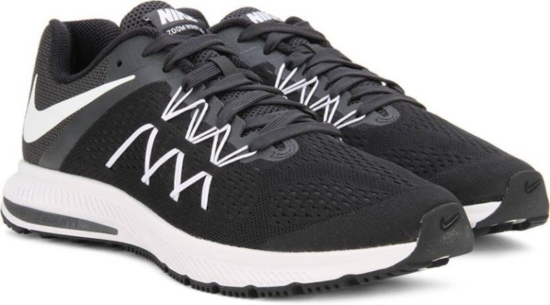 Nike ZOOM WINFLO 3 Running Shoes For Men(White, Blue)
