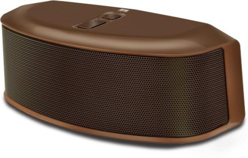 Iball Sound Star BT9 With FM Radio 6 W Portable Bluetooth Speaker(Brown, 2.1 Channel)