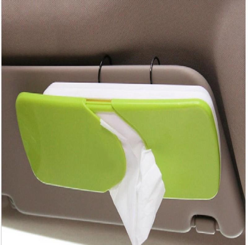 Komfort Sun-Visor Vehicle Tissue Dispenser(Green)