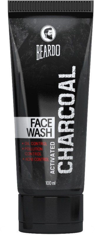 Beardo Activated Charcoal Face Wash(100 ml)
