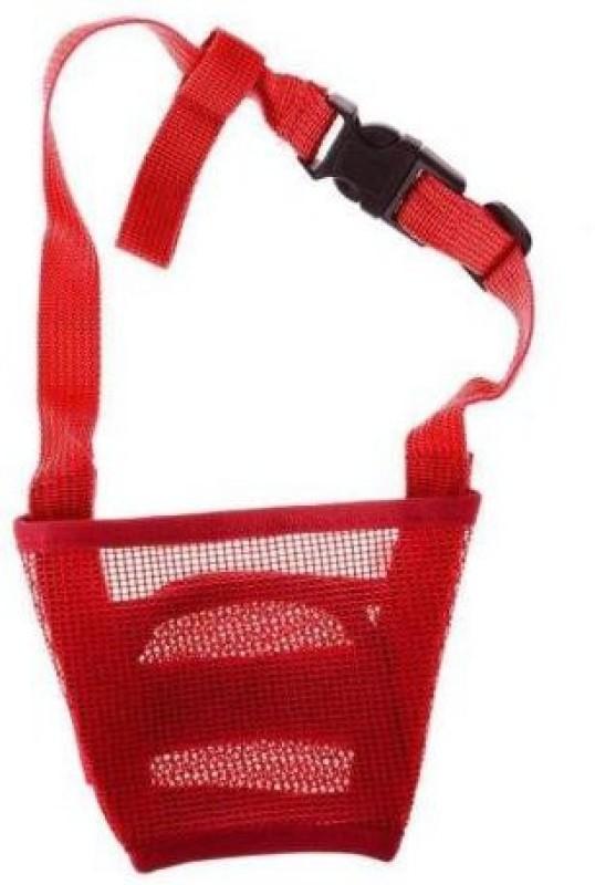 Futaba Small Strips Dog Muzzle(Red)