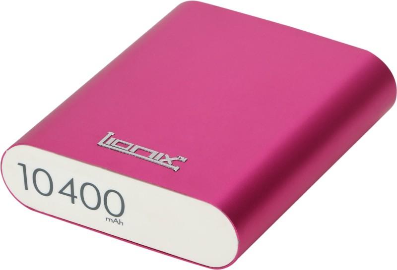 Lionix PNK 01 PINK 10400 mAh Power Bank(Pink, Lithium-ion)