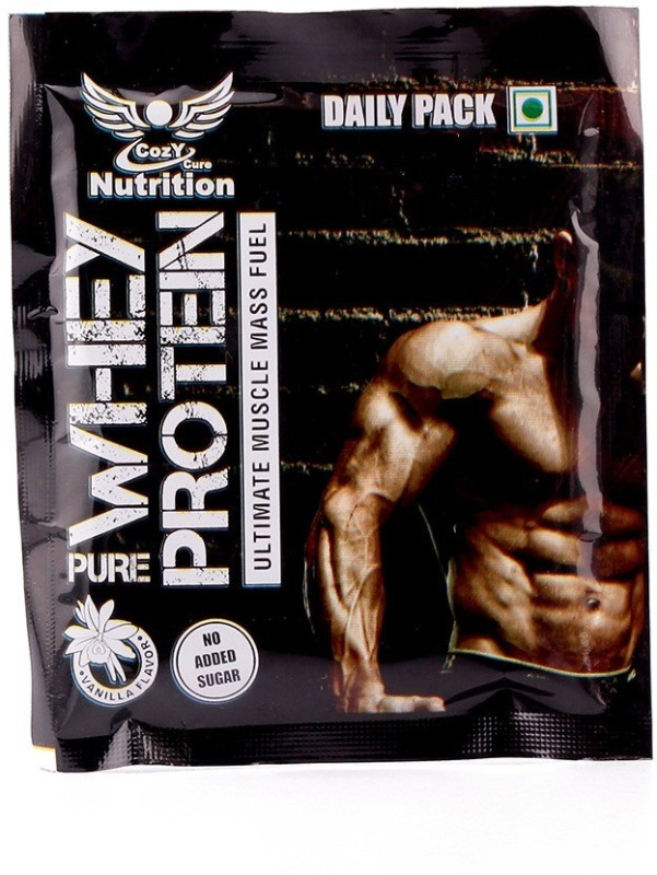 Cozy Cure Nutrition 10 Daily Pack Of Pure Whey Protein(350 g, Vanilla)