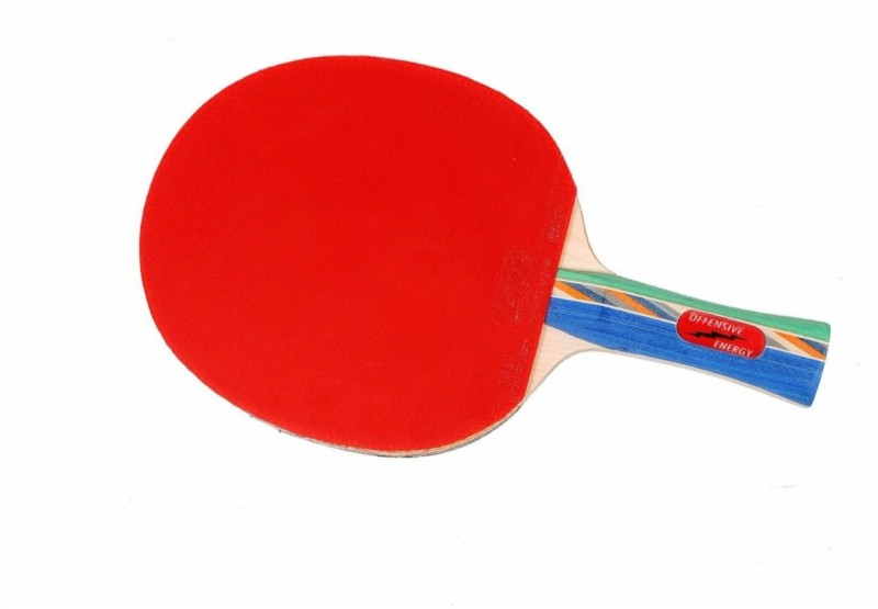 GKI Offensive Energy Multicolor Table Tennis Blade(290 g)