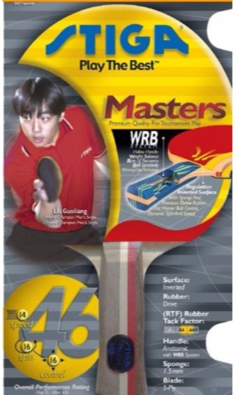 Cosco Masters Two Star Multicolor Table Tennis Blade(290 g)