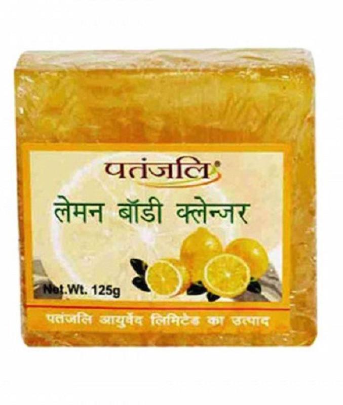 Patanjali Lemon Soap(125 g, Pack of 4)