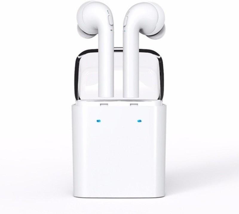 Voltegic ™ Stereo Dynamic GF7-TWS-Type-101 Headphone(White, In the Ear)