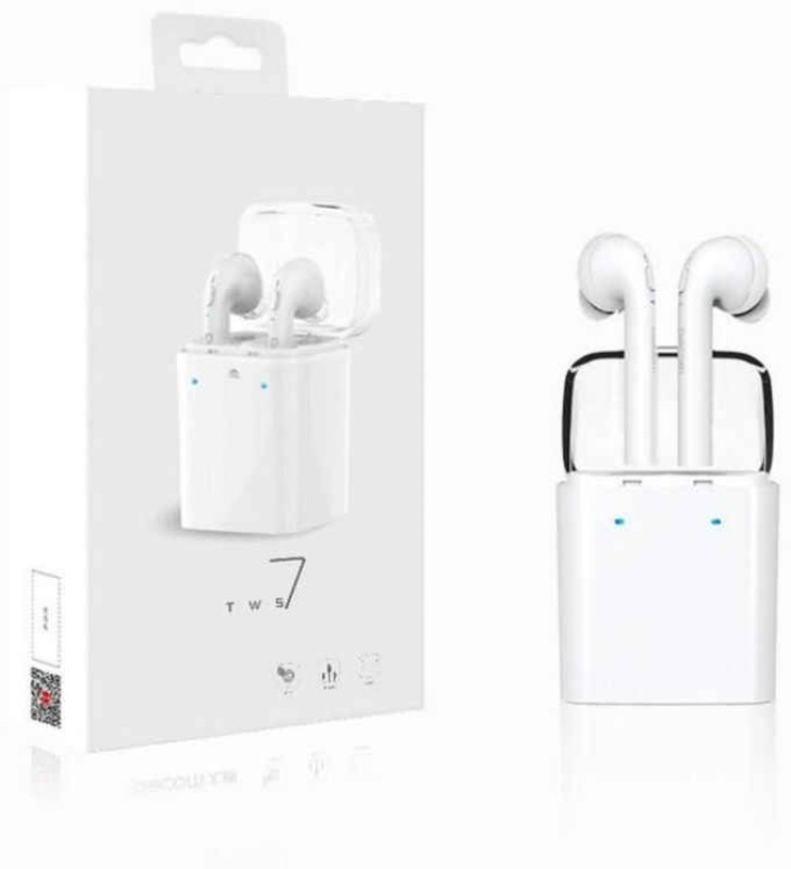 Voltegic ™ Stereo Dynamic GF7-TWS-Type-004 Headphone(White, In the Ear)