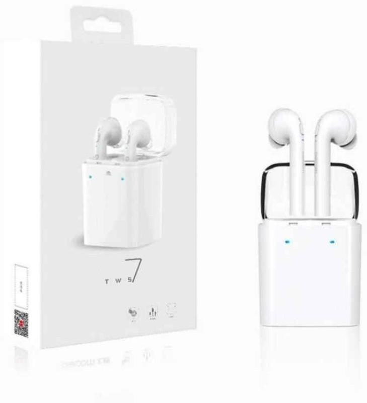 Voltegic ™ Stereo Dynamic GF7-TWS-Type-004 Headphone(White, In the Ear)