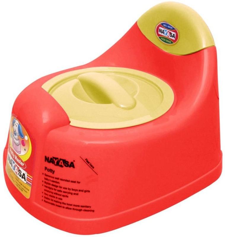 Nayasa Baby Training Potty Seat(Red, Yellow) Baby Training