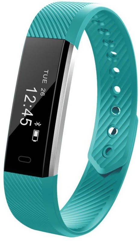 fbandz ALTUMHR Fitness Smart Band(Cyan Strap, Size : Regular)