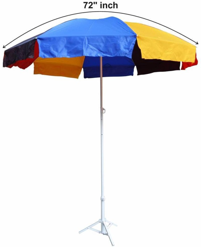 Fendo multi color garden with tripod stand -36 Umbrella(Multicolor)