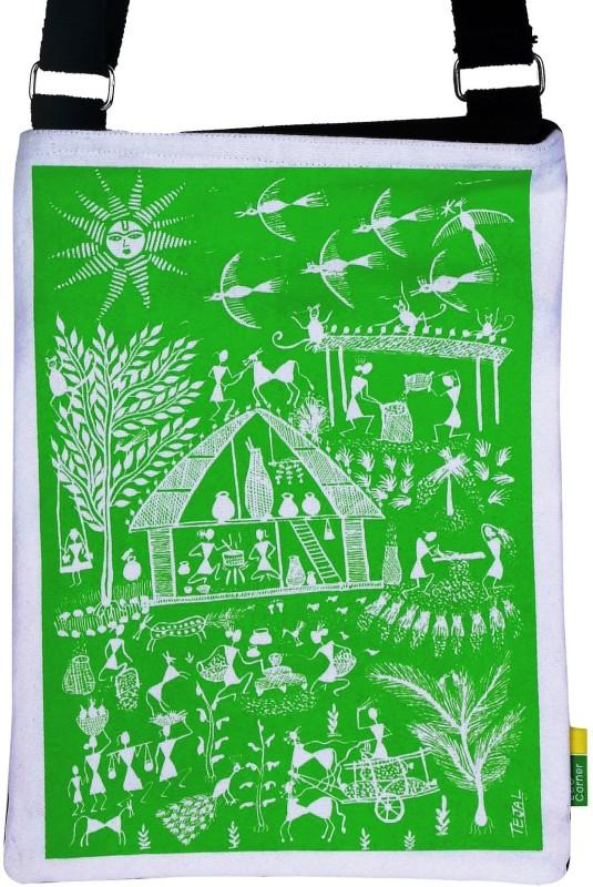 Eco Corner Green Sling Bag