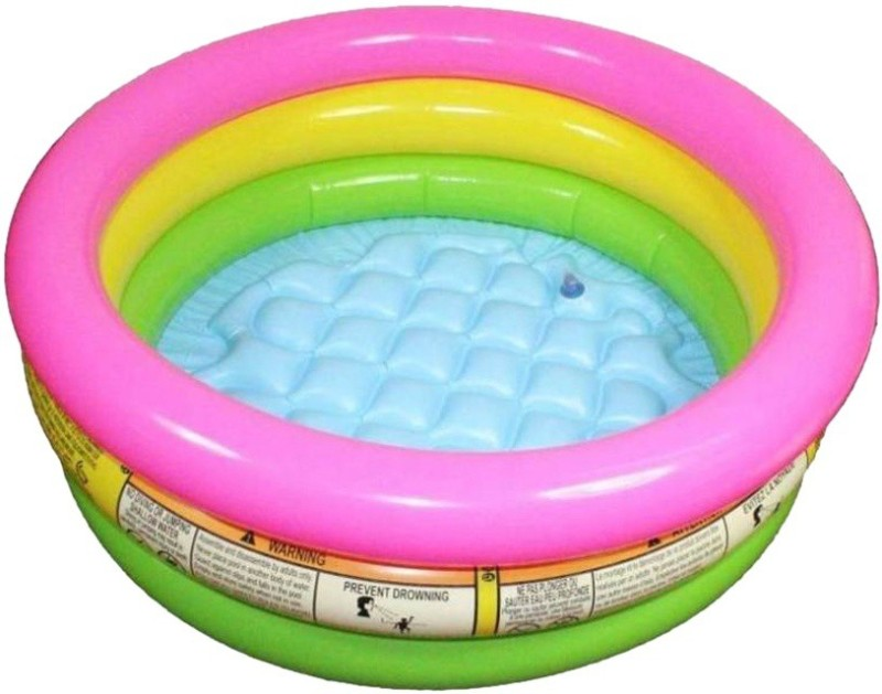 ANGELS CREATION Baby Child Swimming pool Water Tub 2 feet Baby Bath Seat(Multicolor)