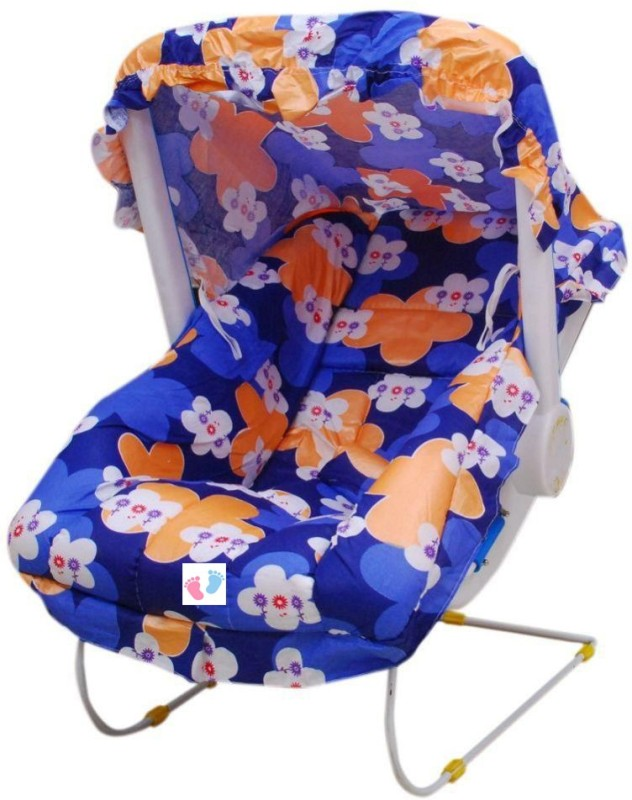 Mamma's Babyee FLORALPRINT-BLUE Non-electric(Blue)