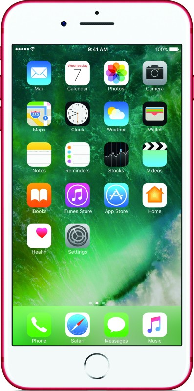 Apple iPhone 7 Plus (Red, 128 GB)