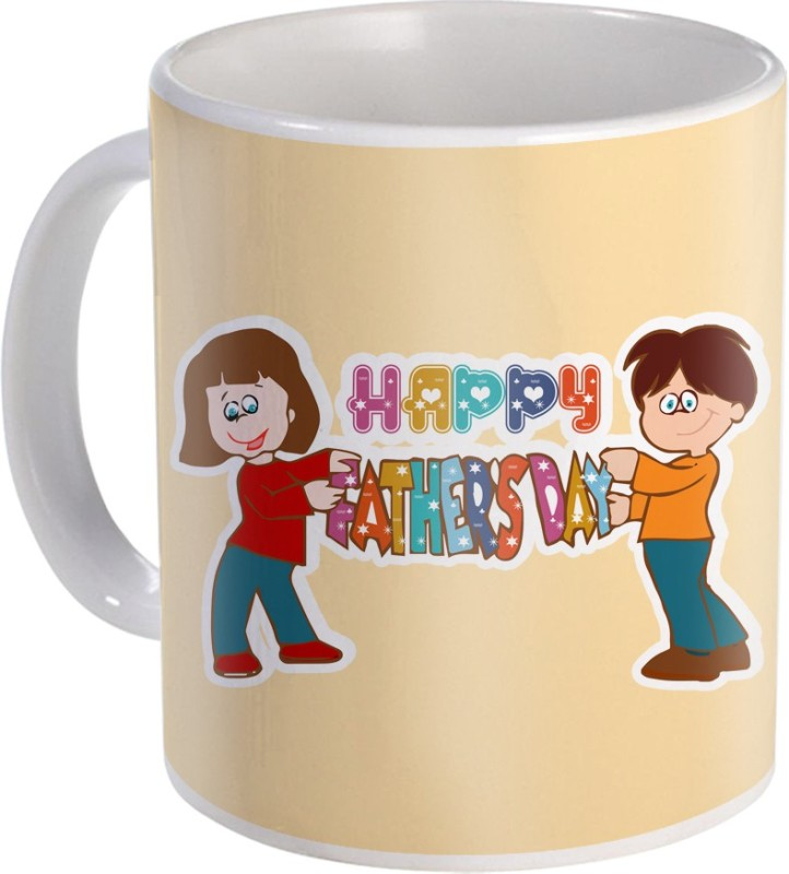 SKY TRENDS Gift For Fathers Day In Coffee His Anniversary/Birthday Present JSD-026 Ceramic Mug(350 ml)