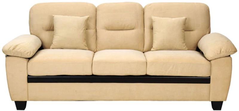 Comfy Sofa Classy Fabric Sectional Beige Sofa Set