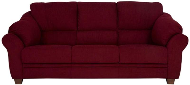 Comfy Sofa Classy Fabric Sectional Maroon Sofa Set
