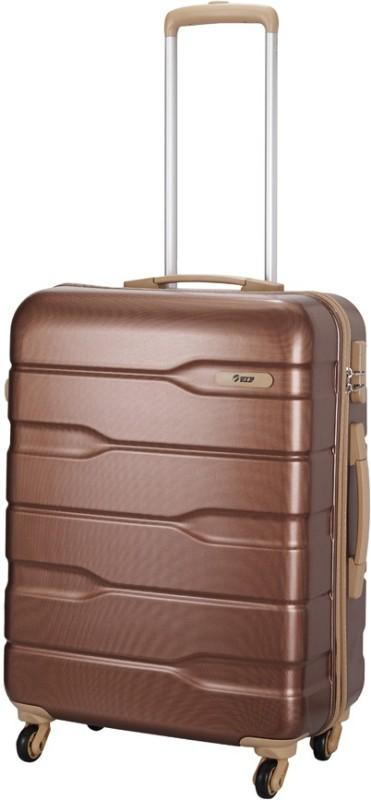VIP Ferrari Active STR Cabin Luggage - 21 inch(Red, Brown)