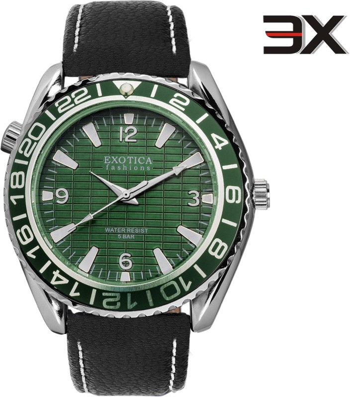 Exotica Fashions EFG-14-LS-Green-NS New Series Analog Watch - For Men