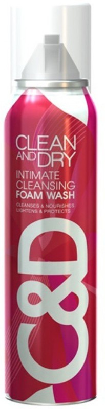 Midas Care Clean And Dry Foam Intimate Wash(85 g)