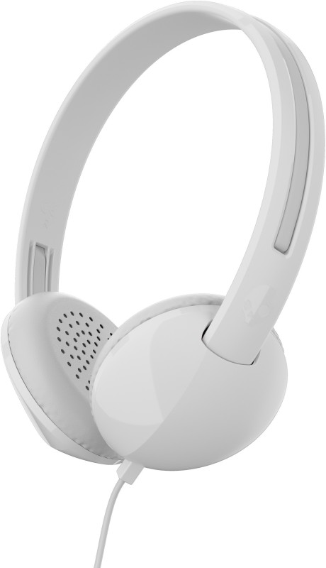 Skullcandy S2LHY-K568 Stim Wired Headset with Mic(White Gray, On the Ear)
