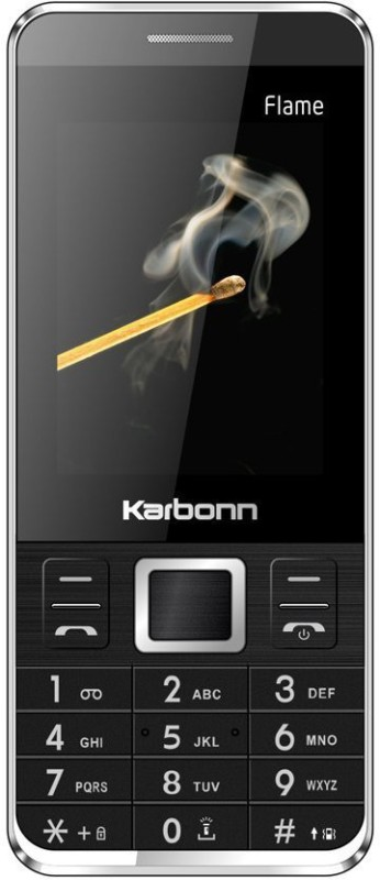 Karbonn Flame(Black) image