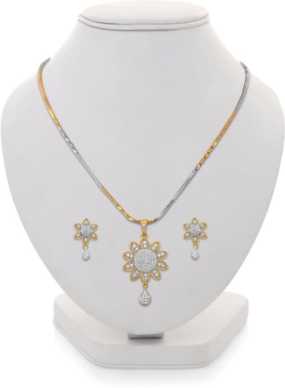 Zeneme Alloy Jewel Set(Gold)
