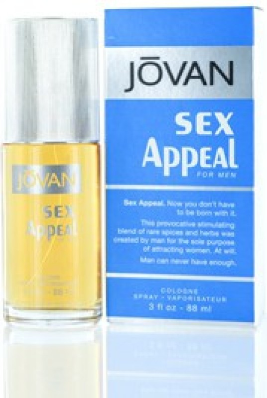 Jovan 1 Sex Appeal By 1 For Men - 3 Ounce Eau de Cologne - 90 ml(For Men)
