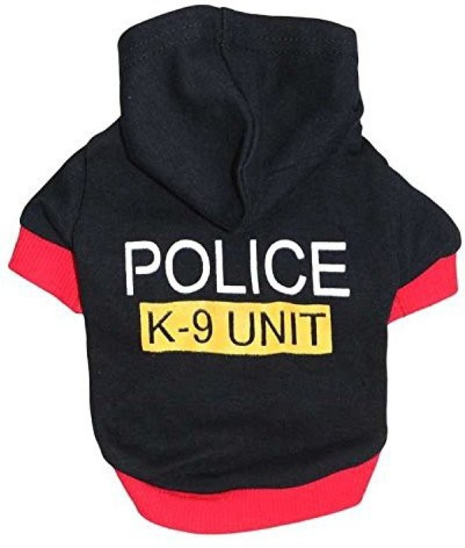 Futaba Hoodie for Dog(Black, Pink)