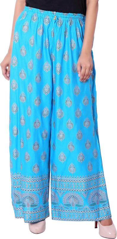 Deeksha Regular Fit Women's Blue Trousers
