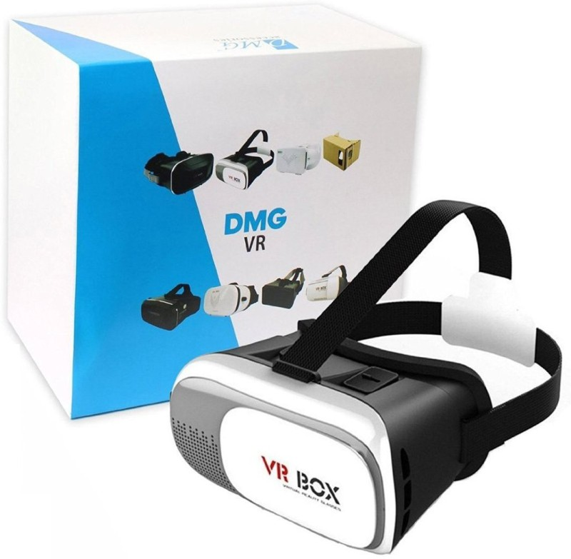 DMG Plastic Version Adjustable VR Virtual Reality 2nd Gen Headset 3D Glasses For 4-6 inch Smartphones(Smart Glasses)