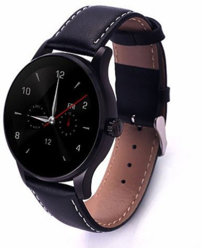 WatchOut Wearables Black Zebra with Leather strap Smartwatch(Black Strap)