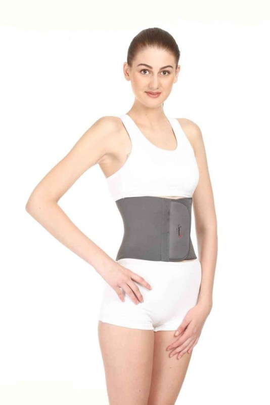 Surgitech Abdominal Support Belt Abdomen Support (XL, Grey)