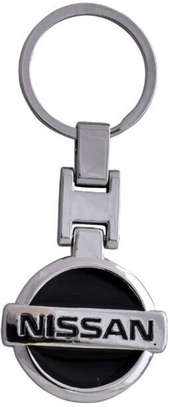 Aditya Traders CLASSY FULL METAL 'NISSAN CAR KEYCHAIN Key Chain(Black)