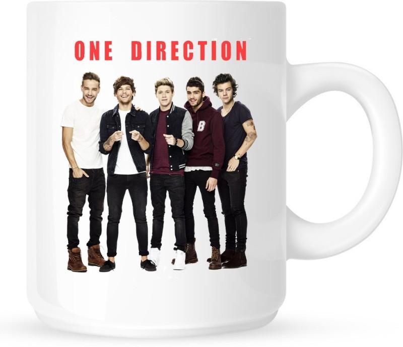 Chanakya One Direction Ceramic(350 ml) Ceramic Mug(350 ml)