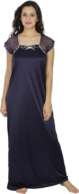 Klamotten Women's Nighty(Dark Blue)