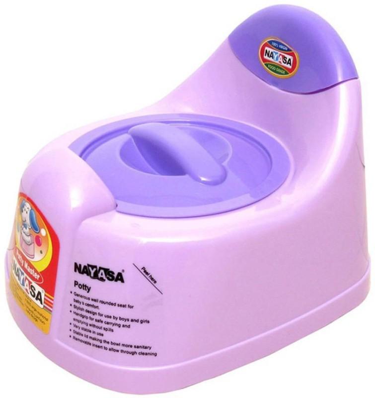 Nayasa Snowpearl Baby Training Multicolor Potty Seat(Multicolor) Snowpearl Baby Training Multicolor