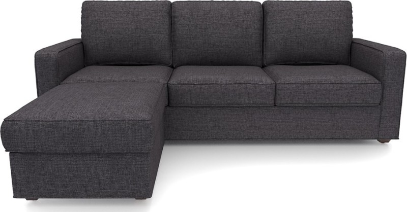 Urban Ladder Apollo Fabric 3 + 1 Steel Sofa Set