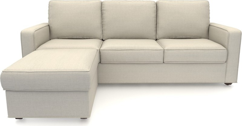 Urban Ladder Apollo Fabric 3 + 1 Pearl Sofa Set
