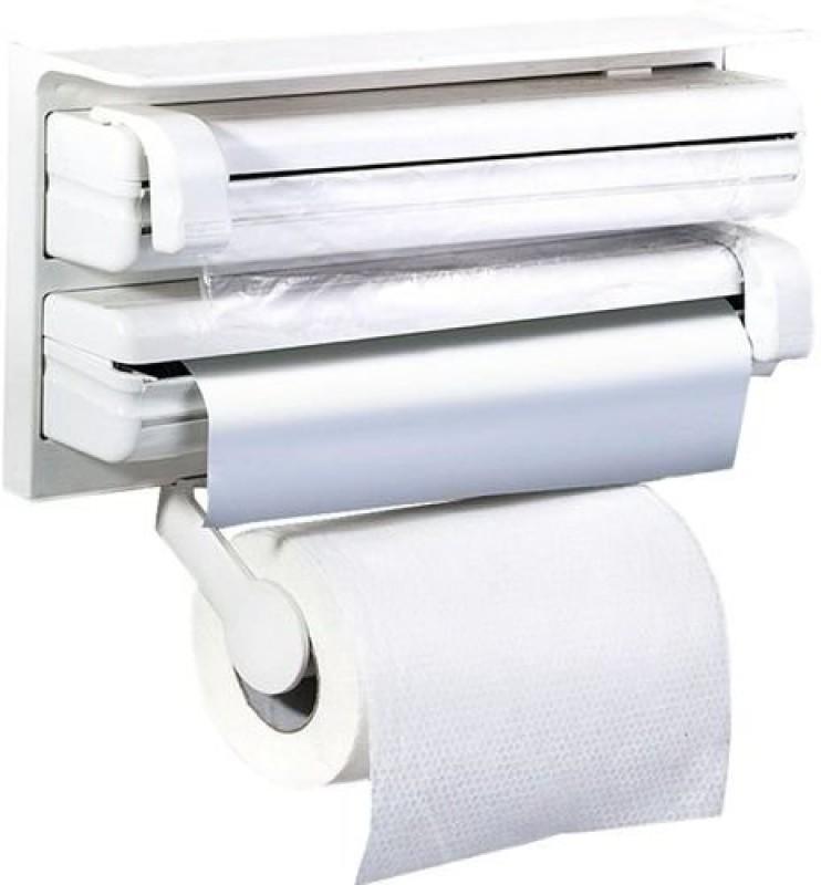 Cubee Triple For Cling Film Wrap Aluminium Foil Kitchen Roll Paper Dispenser
