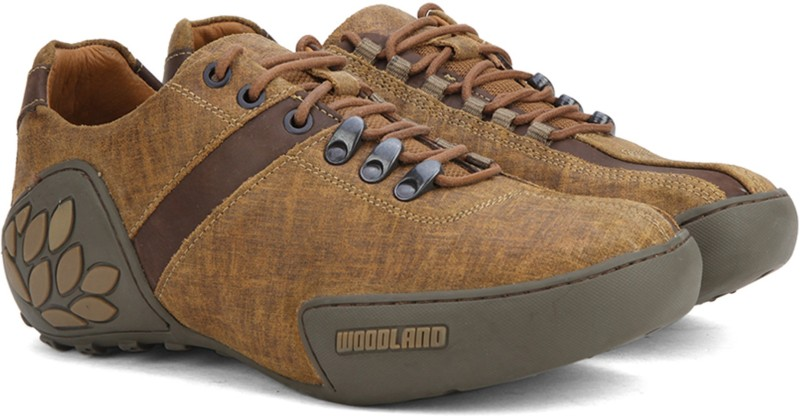 Woodland Outdoor Shoes For Men(Brown)
