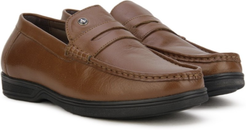 Arrow FORMAL MOC Loafers For Men(Tan)