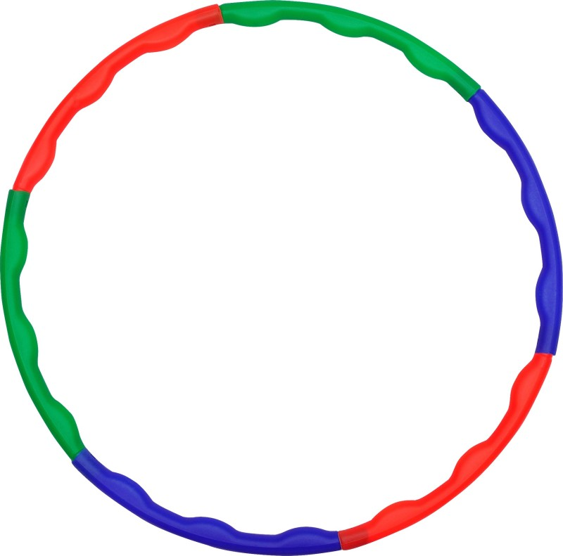 GSI Collapsible into 6 Rods Hula Hoop(Diameter - 60 cm)